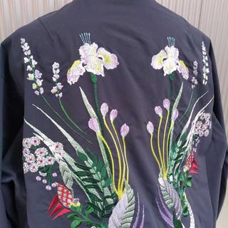 mame - mame 刺繍 ジャケット ブルゾン