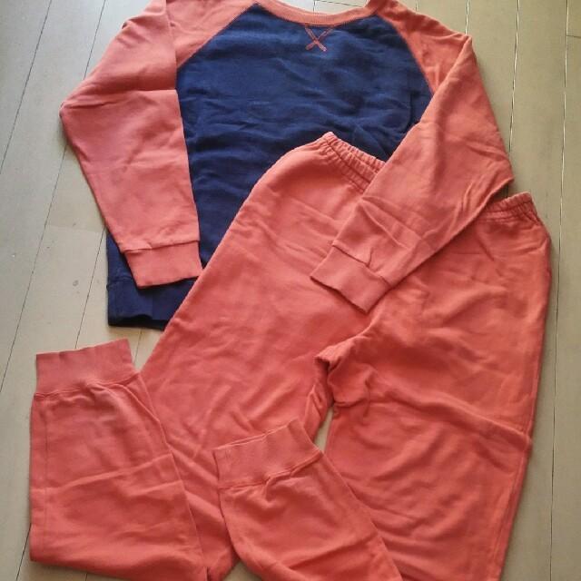 UNIQLO(ユニクロ)のパジャマユニクロ上下セットユーズドご理解してもらえれば可愛いくて着心地最高です♪ キッズ/ベビー/マタニティのキッズ/ベビー/マタニティ その他(その他)の商品写真
