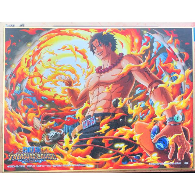 BANDAI(バンダイ)の一番くじ ワンピース 色紙 エース エンタメ/ホビーのおもちゃ/ぬいぐるみ(キャラクターグッズ)の商品写真