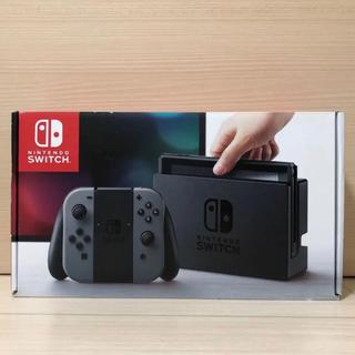 Nintendo Switch - 【セール中】Nintendo Switch 本体 任天堂 スイッチ 黒 グレー