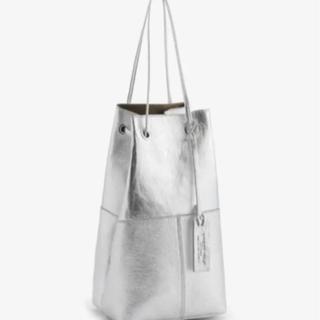 TOMORROWLAND - マルコマージ 巾着レザーハンドバッグ シルバー銀