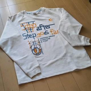 コンバース(CONVERSE)のコンバース長袖シャツ白いのでインナーに映えます!(Tシャツ/カットソー)