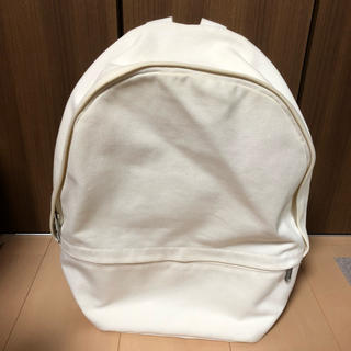 マリメッコ(marimekko)のマリメッコ ホワイトバックパック(バッグパック/リュック)