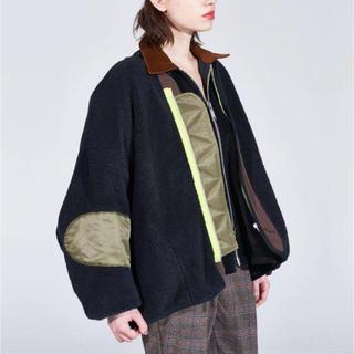 elephant TRIBAL fabrics ライナー ビッグ ブルゾン