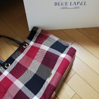 BURBERRY BLUE LABEL - BLUE LABEL CRESTBRIDGE トートバック