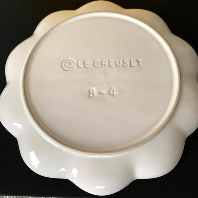 LE CREUSET(ルクルーゼ)のルクルーゼ  フリルプレート22㎝ 新品 インテリア/住まい/日用品のキッチン/食器(食器)の商品写真