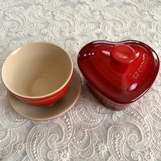 ルクルーゼ(LE CREUSET)のルクルーゼ  ラムカン&茶器 セット(食器)