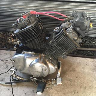 ヤマハ(ヤマハ)のビラーゴ400  エンジン(その他)