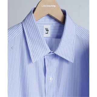 COMOLI - LE ストライプシャツ