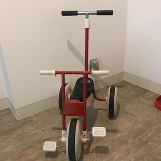 ムジルシリョウヒン(MUJI (無印良品))の【最終価格】無印 三輪車 舵取り棒付(三輪車)
