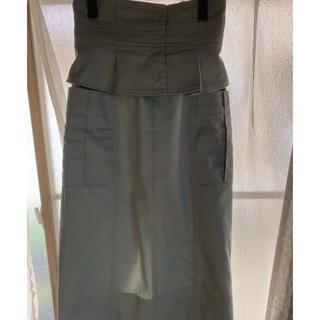 リリーブラウン タイトスカート(ひざ丈スカート)