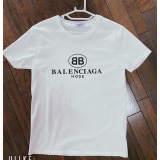 Balenciaga - 【新品👔】BALENCIAGA 白Tシャツ Mサイズ💫