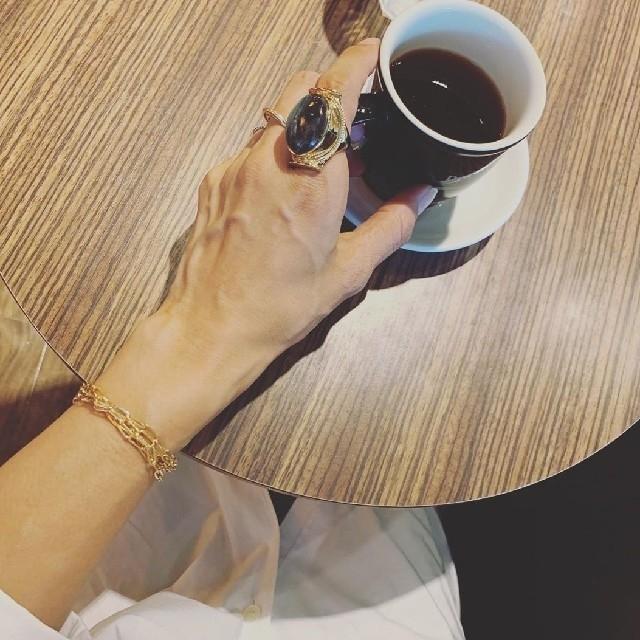 L'Appartement DEUXIEME CLASSE(アパルトモンドゥーズィエムクラス)の【MARIHA/マリハ】 ラブラドライト リング レディースのアクセサリー(リング(指輪))の商品写真