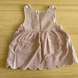 petit main - プティマイン   コーデュロイ ジャンパースカート