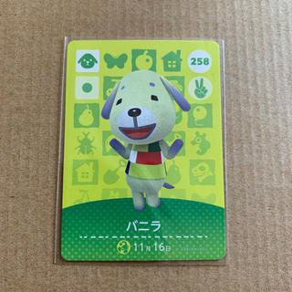 Nintendo Switch - どうぶつの森 amiiboカード バニラ