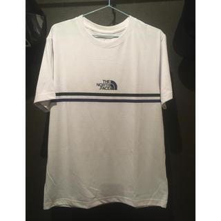 THE NORTH FACE - ノースフェイス ラインTシャツ白 未使用 Lサイズ