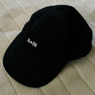 コンバース(CONVERSE)のconverse キャップ 帽子 黒(キャップ)