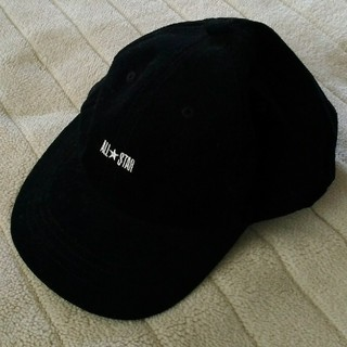 CONVERSE - converse キャップ 帽子 黒