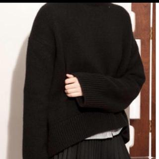 セリーヌ(celine)のCELINE チャンキーニット ブラック size S(ニット/セーター)