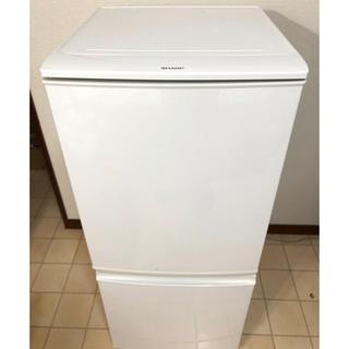 SHARP - 冷凍冷蔵庫 SHARP SJ-D14A-W 2015年製