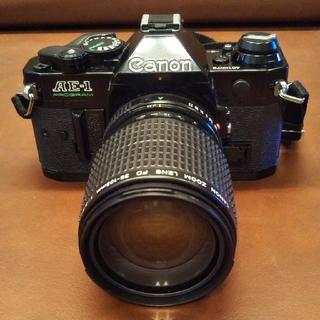Canon - Canon  AE-1 PROGRAM  (35-105mmズームレンズ付)