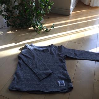 マーキーズ(MARKEY'S)のマーキーズ80サイズ オシャレなグレーのロングTシャツ★(Tシャツ)