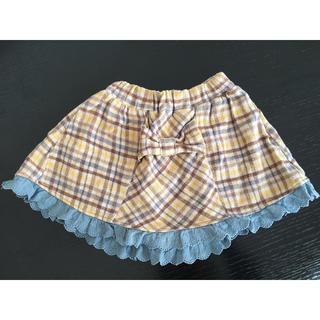女の子スカート冬用100㎝(スカート)