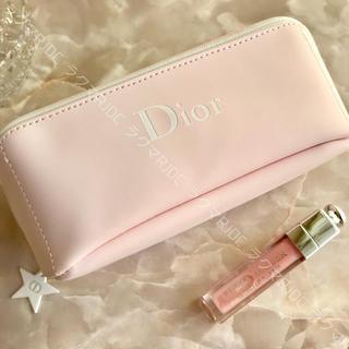 Christian Dior - 【新品未使用】ディオール ベビーピンク ポーチ メイクボックス コスメケース