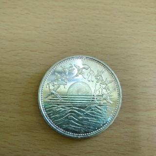 日本国 天皇陛下御在位六十年記念 壱万円銀貨