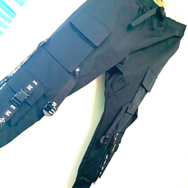 REFLEM レフレム ロゴテープカーゴパンツ メンズのパンツ(ワークパンツ/カーゴパンツ)の商品写真