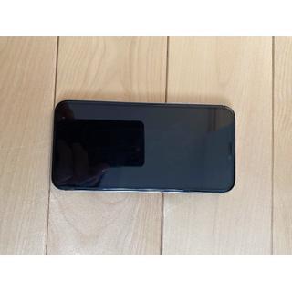アイフォーン(iPhone)のiPhone X ホワイト シムフリー 256G 美品 付属品完備(携帯電話本体)