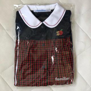 familiar - 80 familiar 半袖ロンパース