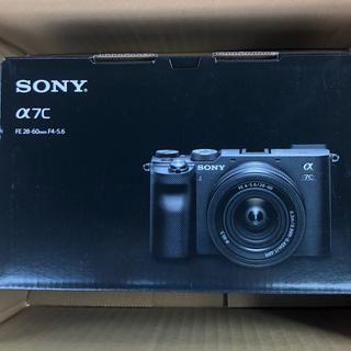 SONY - ソニー α7C 一眼カメラ レンズキット ILCE7CL