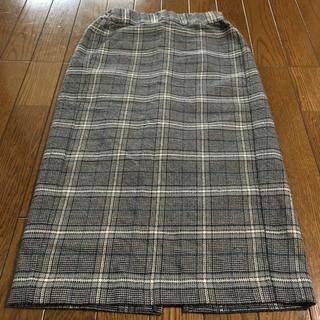 GU - gu チェックタイトロングスカート