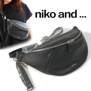 ニコアンド(niko and...)のniko and... ニコアンド レザー調 タッセル ウエストポーチ(ボディバッグ/ウエストポーチ)