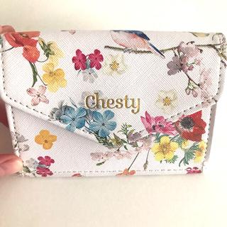 チェスティ(Chesty)のchesty ミニ財布 青い鳥💕 美人百科(財布)