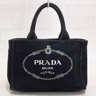 PRADA - ☆人気ブラック・白タグ付☆プラダ PRADA カナパ CANAPA S