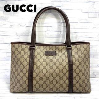 Gucci - GUCCI グッチ トートバッグ GG柄 PVC ショルダーバッグ