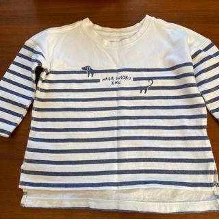 グラニフ(Design Tshirts Store graniph)のグラニフ ナガスギルイヌボーダーロンT 100(Tシャツ/カットソー)