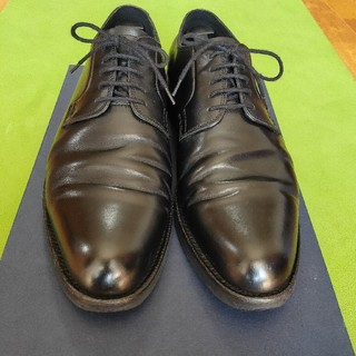 リーガル(REGAL)の大塚製靴 外羽根プレーントゥ ラバーソール ブラック グッドイヤーウェルト製法(ドレス/ビジネス)