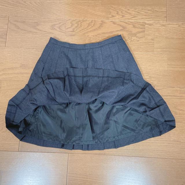 EASTBOY(イーストボーイ)のEASTBOY イーストボーイ 制服スカート チャコール レディースのスカート(ひざ丈スカート)の商品写真