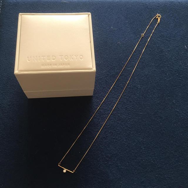 ete(エテ)の10金 ダイヤモンドネックレス レディースのアクセサリー(ネックレス)の商品写真