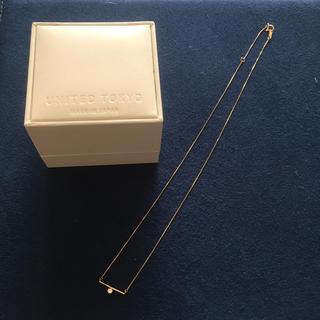 ete - 10金 ダイヤモンドネックレス