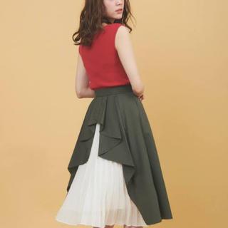 トランテアンソンドゥモード(31 Sons de mode)のカーキスカート(スカート)