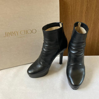 JIMMY CHOO - ジミーチュウ ショートブーツ
