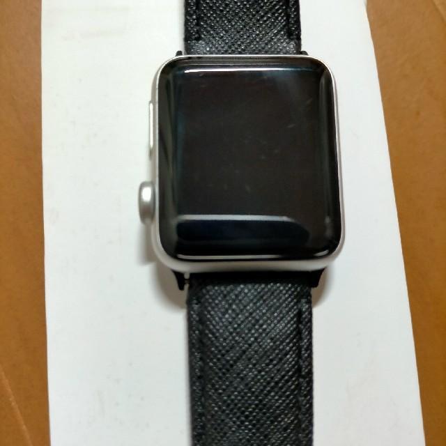 Apple Watch(アップルウォッチ)のApple watch series 3 38mm シルバー アルミニウム  メンズの時計(腕時計(デジタル))の商品写真