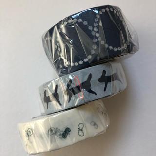 ミナペルホネン(mina perhonen)のmt  ミナペルホネン カモ井 マスキングテープ タンバリン run チョウチョ(テープ/マスキングテープ)