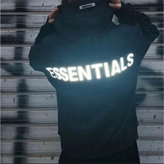 FEAR OF GOD - FOG Essentials Pullover Hoodie パーカー ブラック