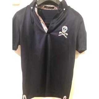マークアンドロナ(MARK&LONA)のMARC&LONA マーク&ロナ スカルポロシャツ ゴルフウェア(ポロシャツ)