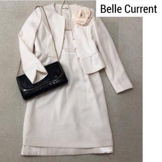 【M】Belle Current ツイードスーツ  ホワイト 七五三 入学式